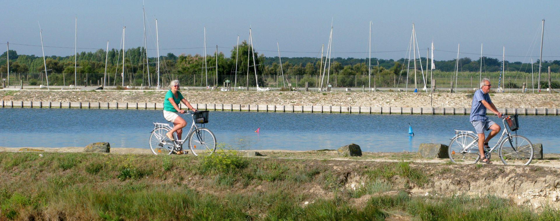 Image Atlantique nature : La Vélodyssée de La Rochelle à Royan