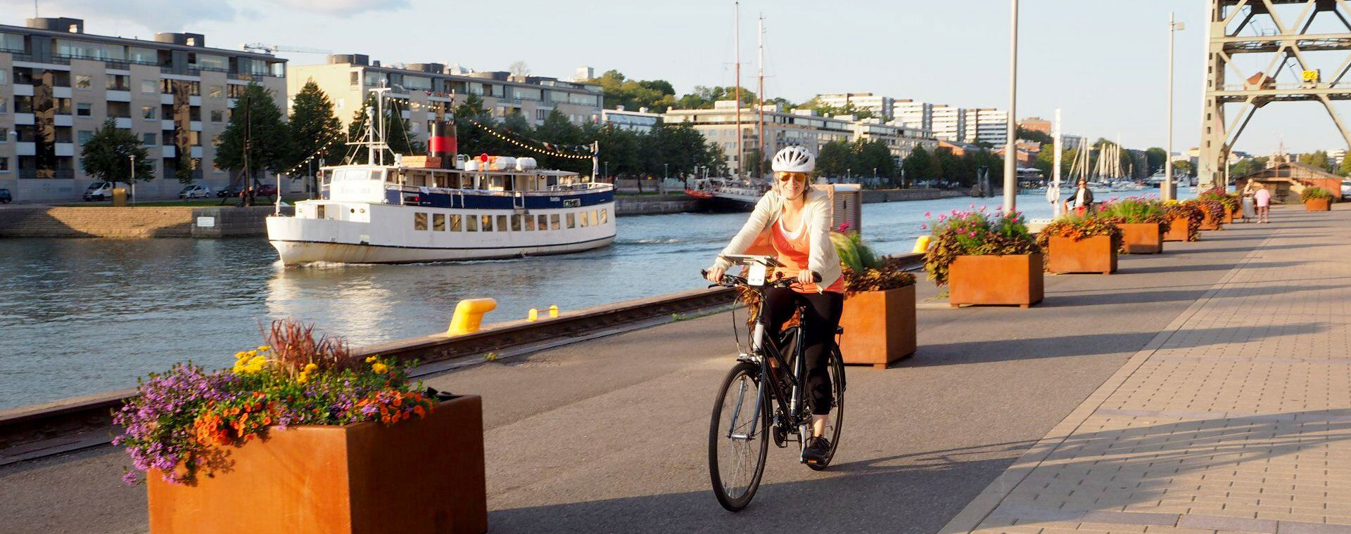 Image Vélo dans l'archipel de Turku