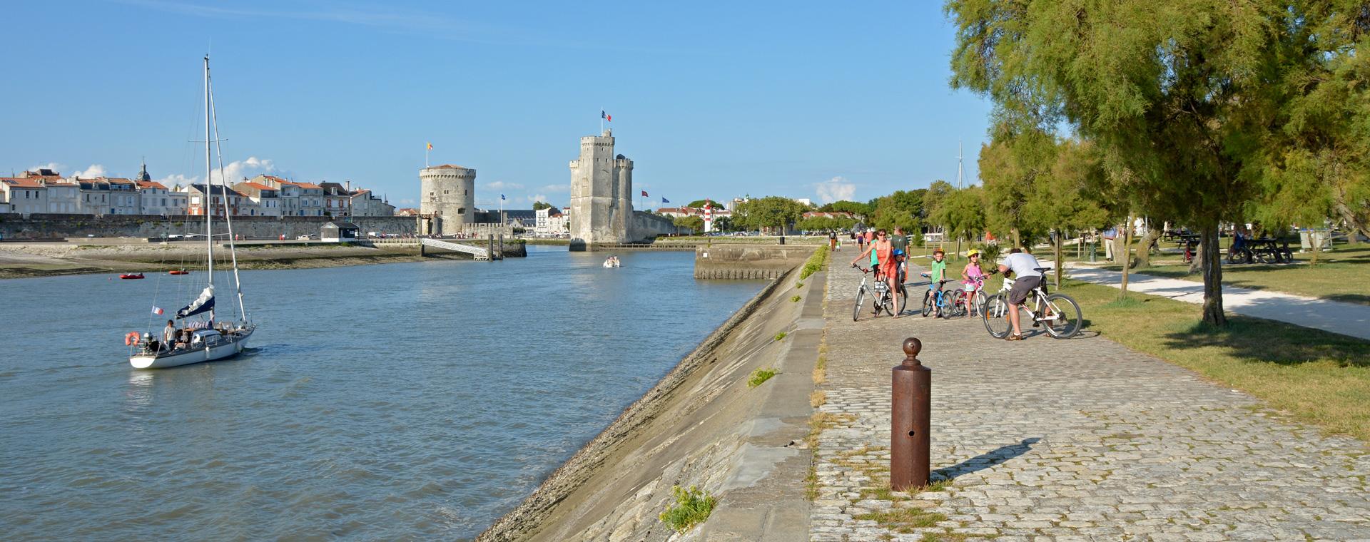Image La Vélo Francette d'Angers à La Rochelle