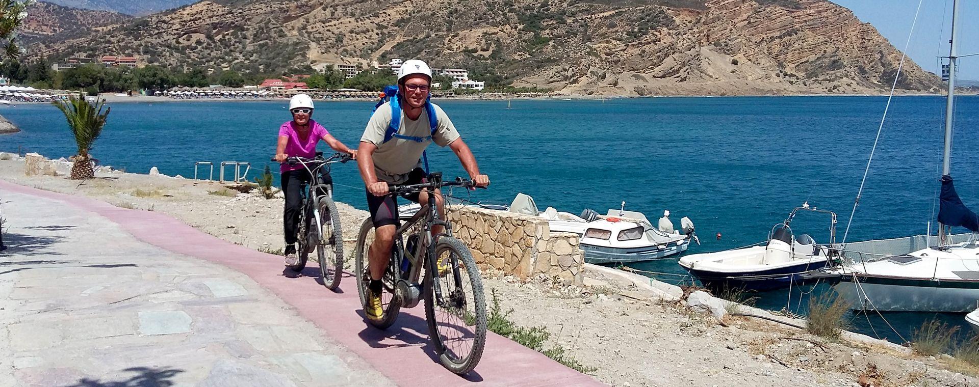Image Traversée de la Crète en vélo à assistance électrique
