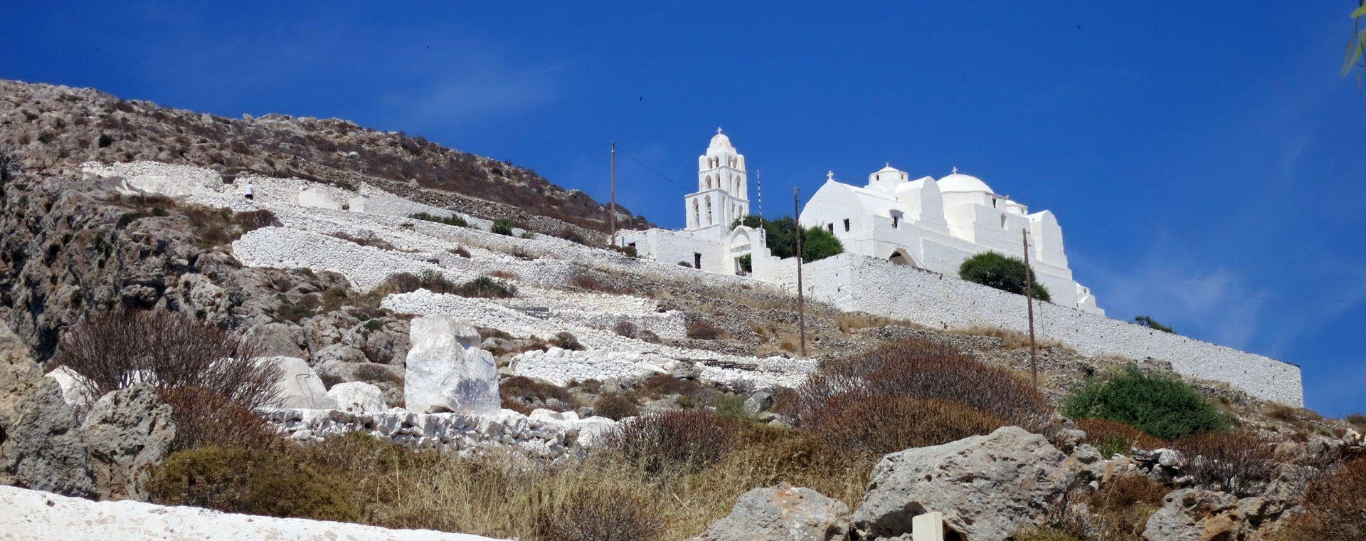Voyage à pied : Les Cyclades : Santorin, Paros et Folégandros