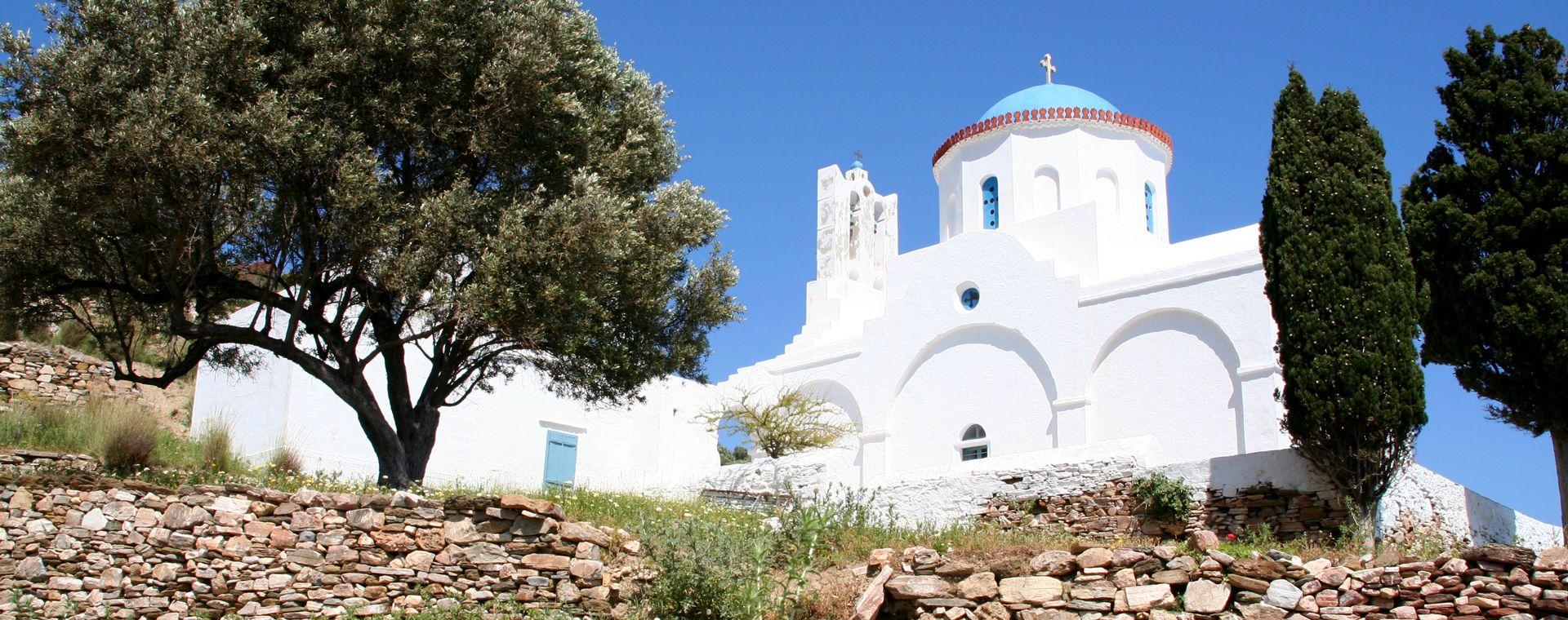 Voyage à pied : Cyclades : Sérifos, l\'île de Persée et Sifnos, l\'île d\'Apollon