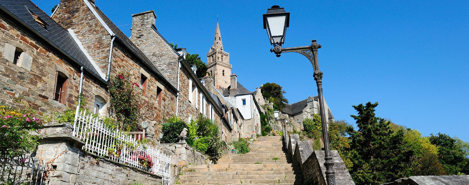 Voyage à pied : France : La Côte de Granit Rose