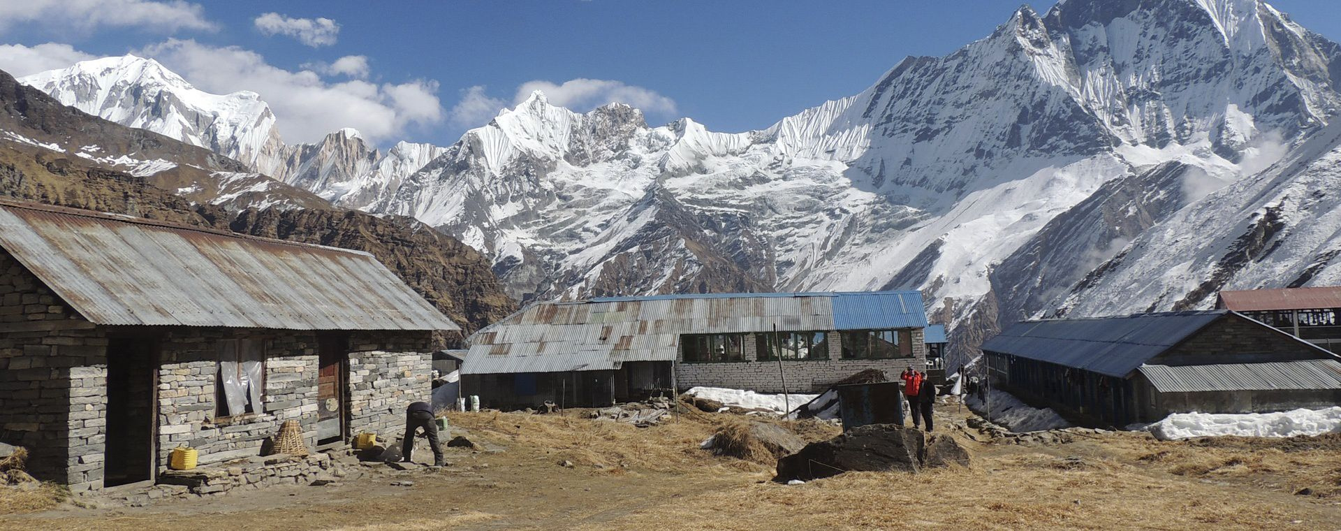 Voyage à pied : Grand tour des Annapurnas