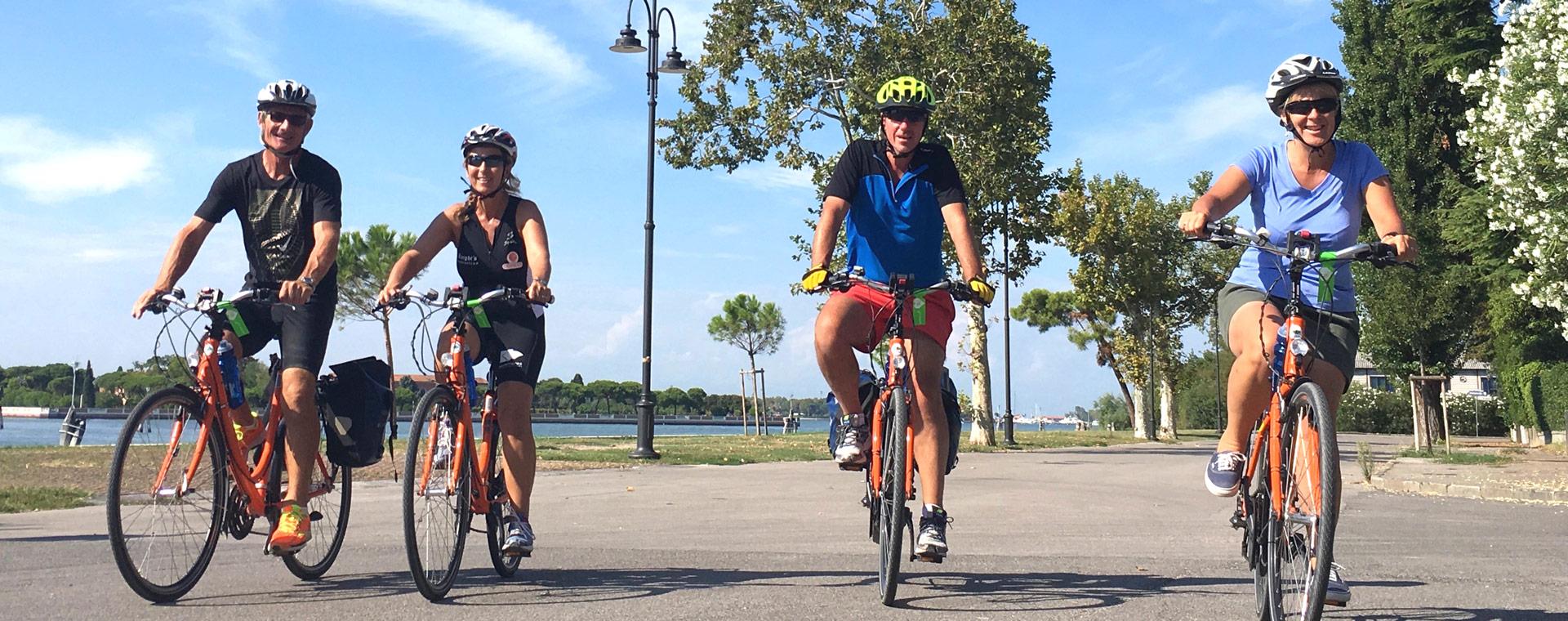 Image Le Pô de Venise à Mantoue, à vélo et bateau