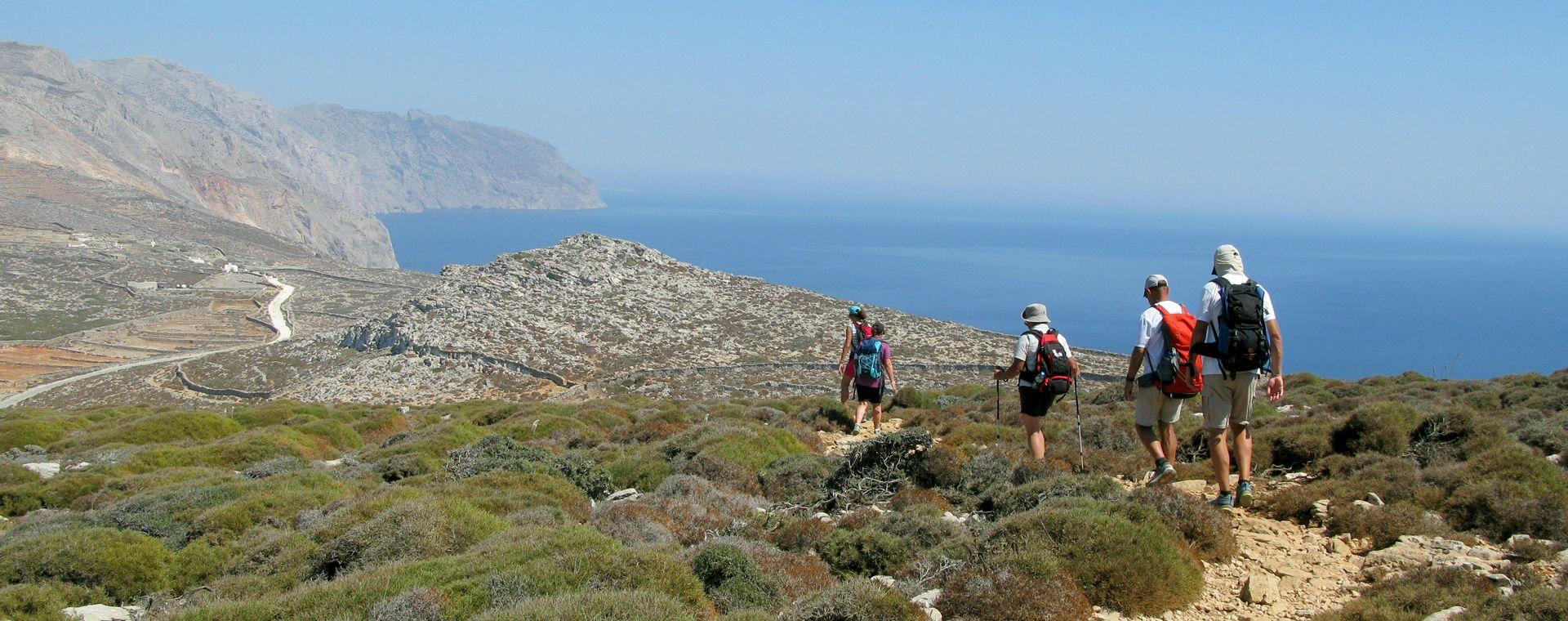 Image Les Cyclades : Naxos et Amorgos