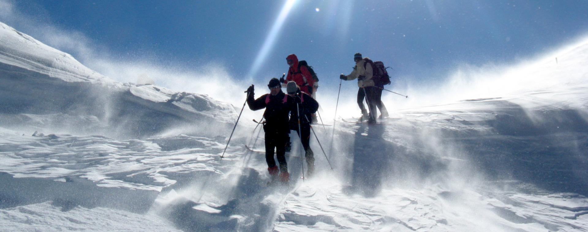 Voyage à la neige : La Trace des Escartons, entre Queyras et Briançonnais