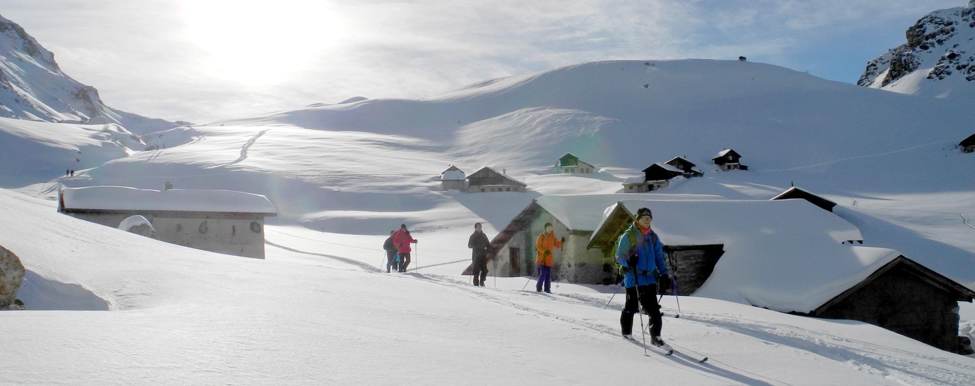 Voyage à la neige : Haute Ubaye secrète