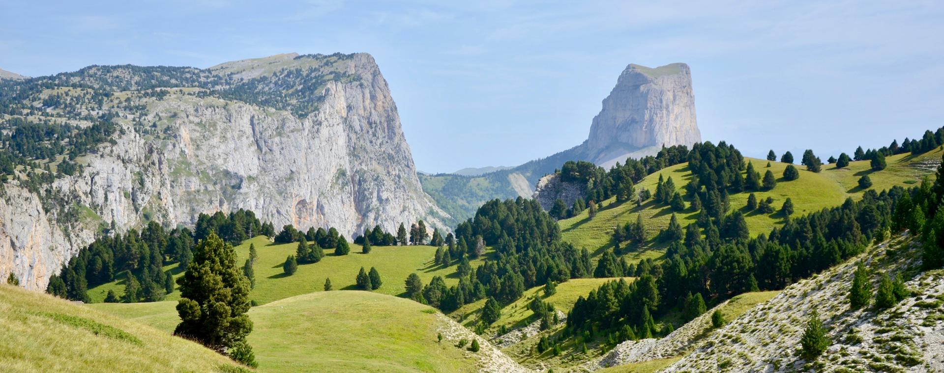 Image Le Vercors entre Trièves et mont Aiguille