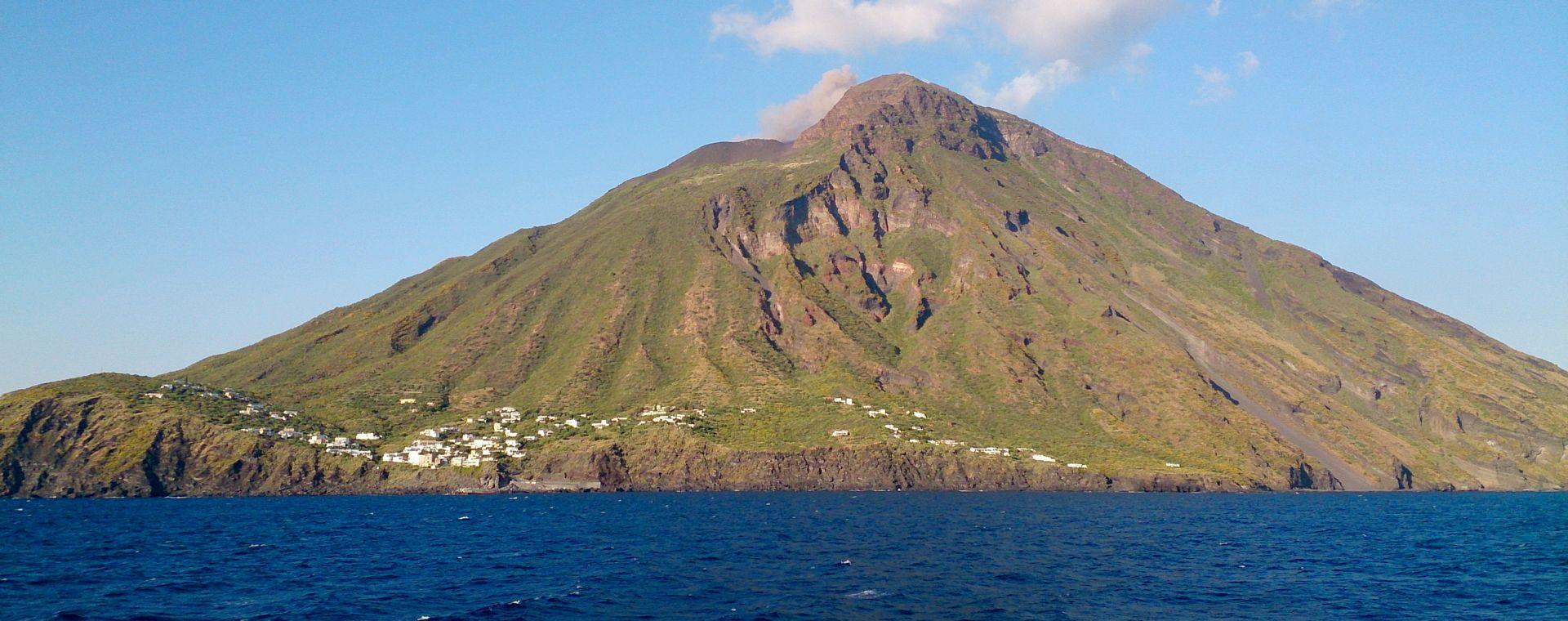 Image Volcaniques îles Éoliennes