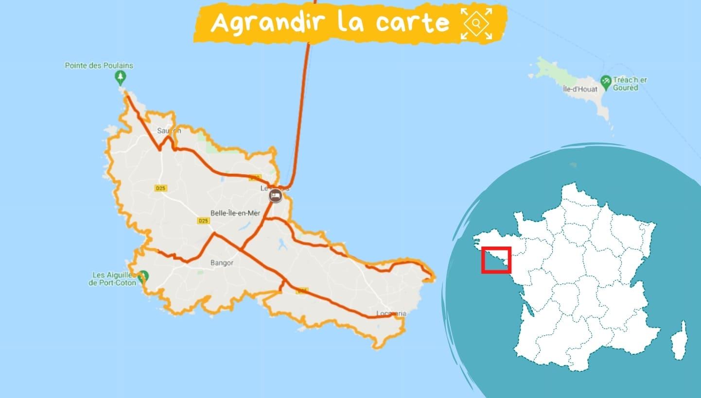 Itinéraire Bretagne : Belle-Île-en-Mer