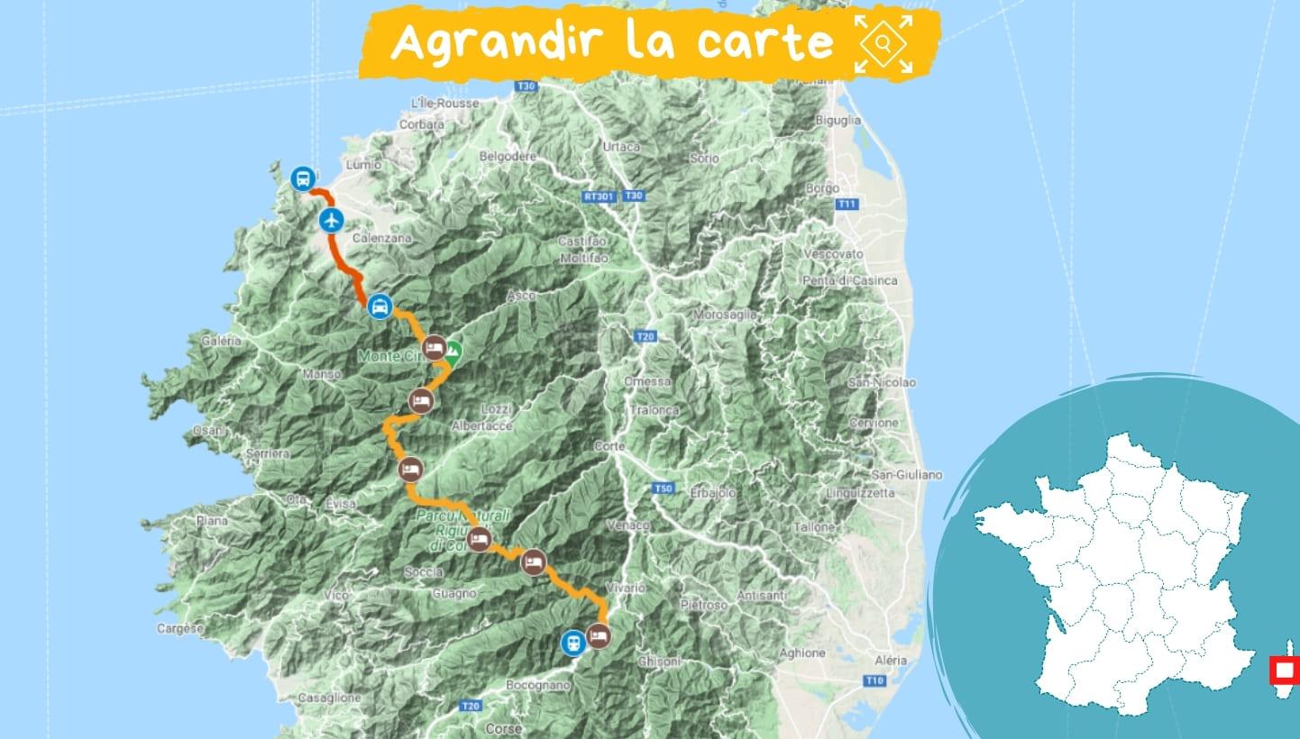 Itinéraire Corse : le GR20 Nord