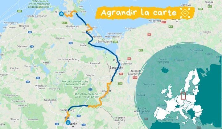 Itinéraire La Baltique, de Berlin à Stralsund à bord du MS Princess