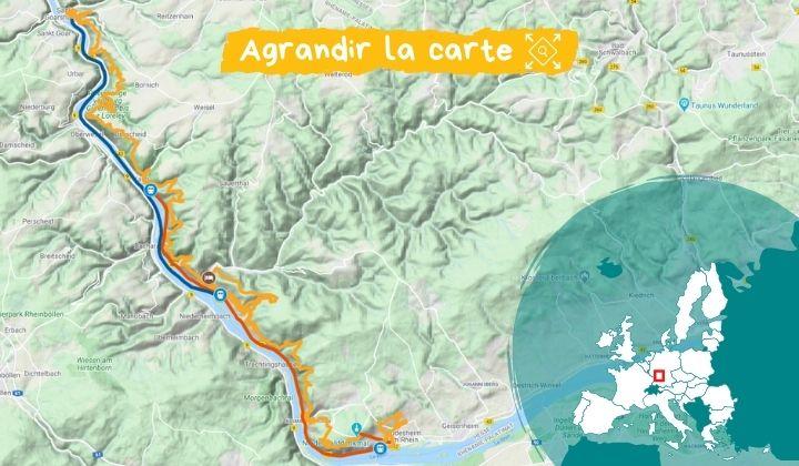 Itinéraire Le Rhin romantique