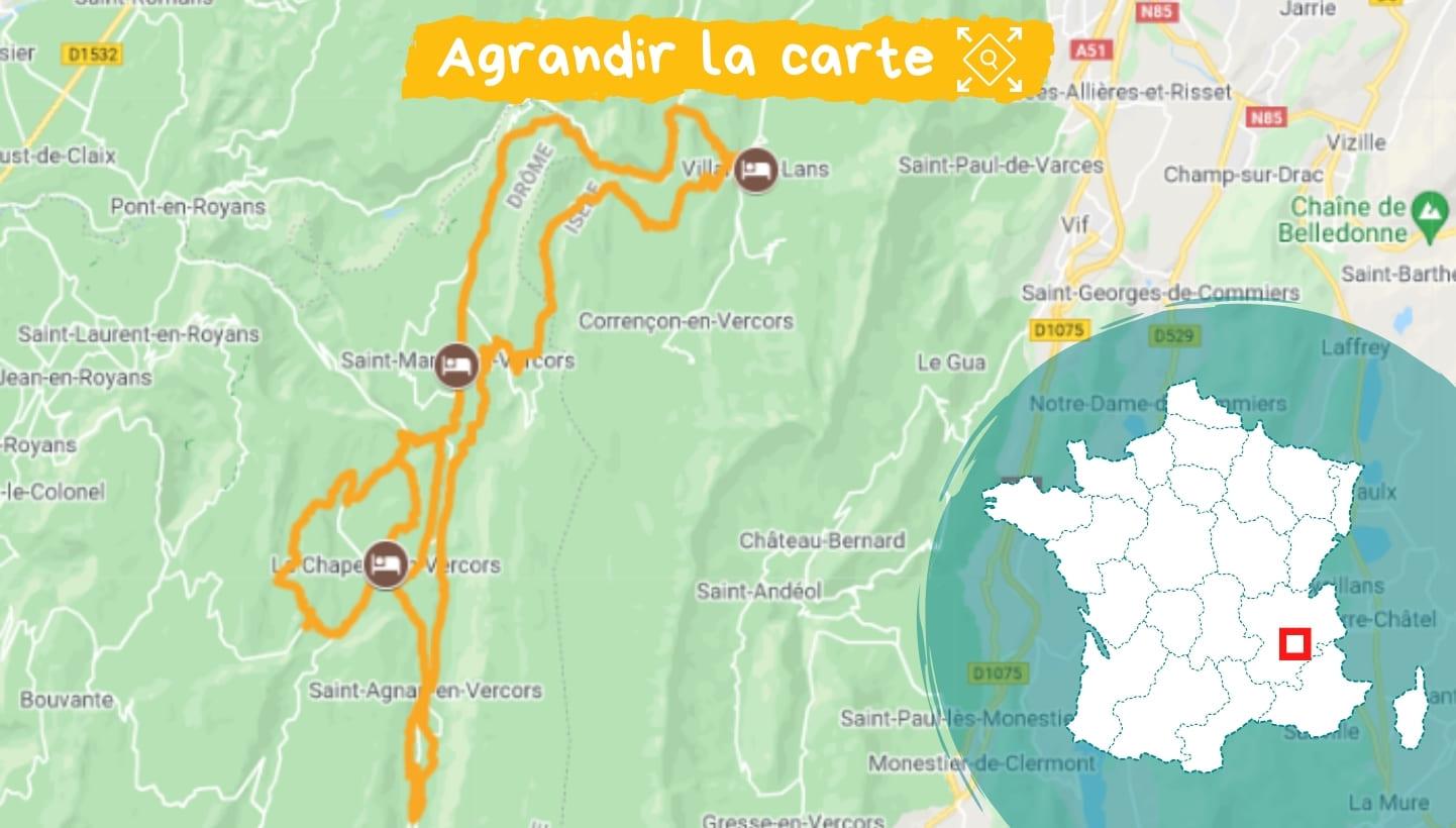 Itinéraire Les plus belles routes du Vercors à vélo