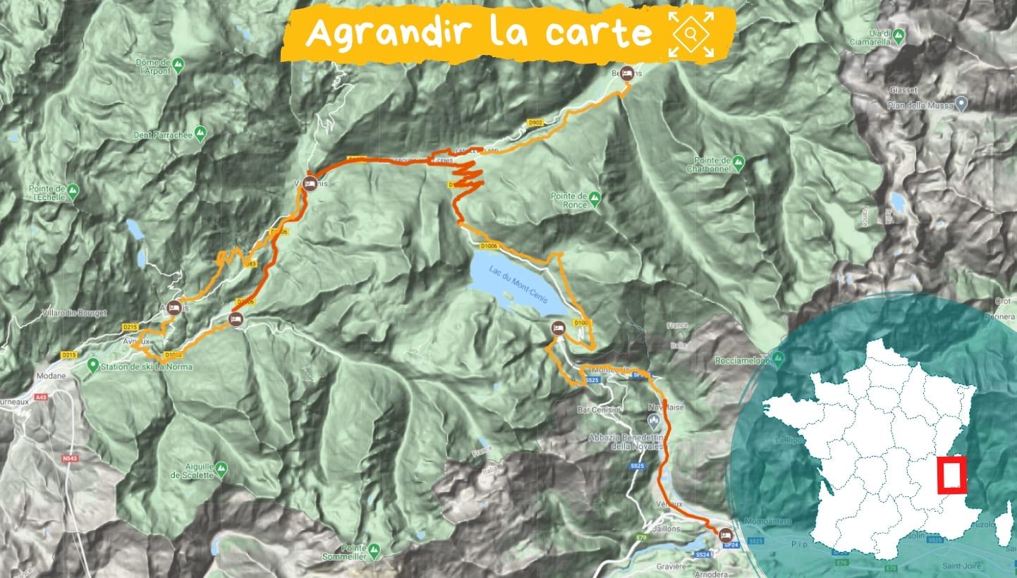 Itinéraire Savoie : Le chemin du Petit Bonheur