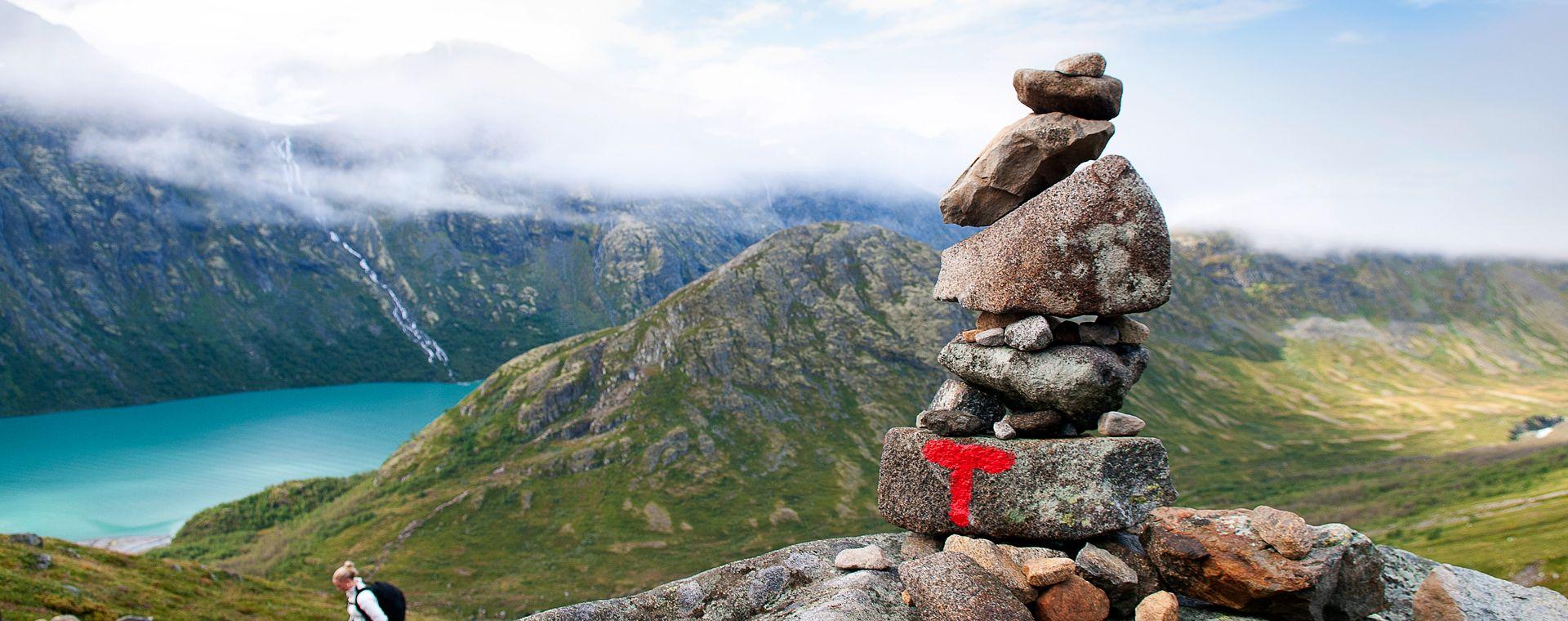 Voyage à pied : Norvège : L\'Extraordinaire tour du Jotunheimen