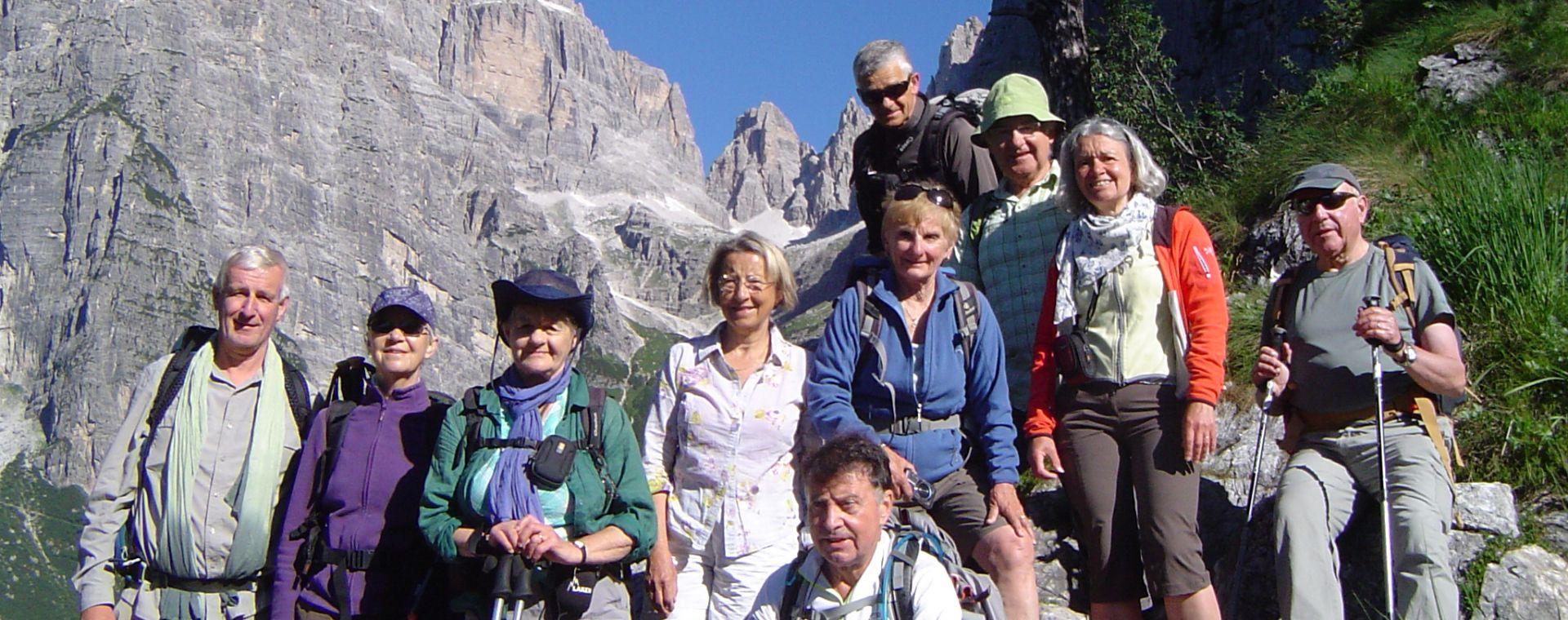 Voyage à pied : Du Lac de Garde aux Dolomites de Brenta