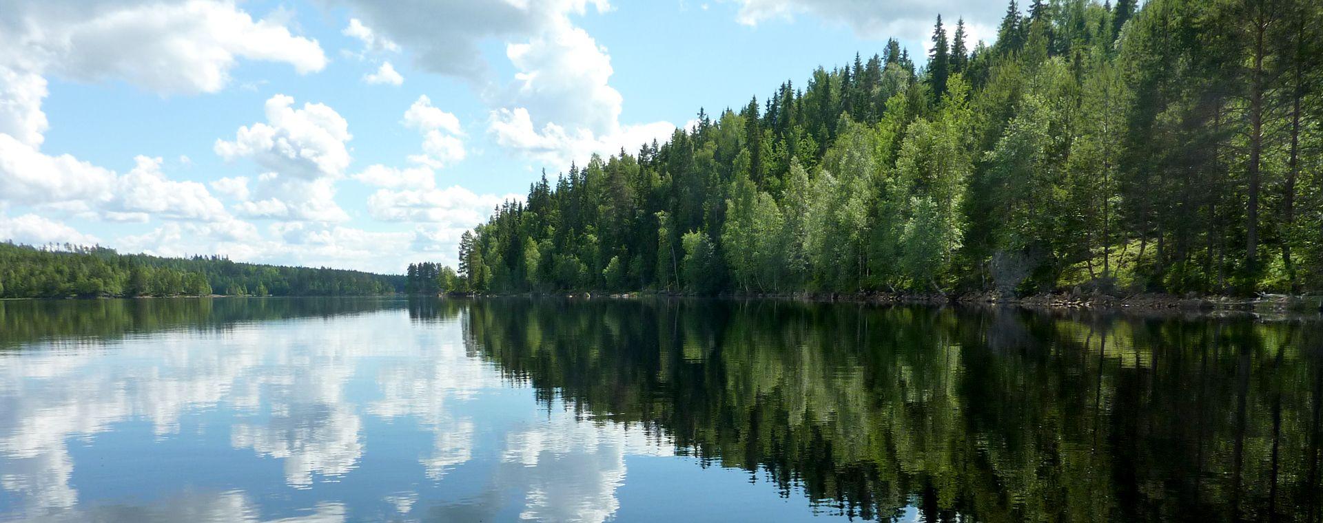 Image Canoë dans le Värmland