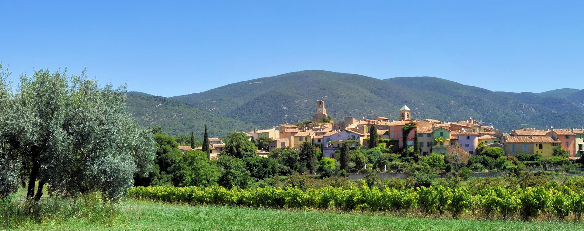 Voyage à pied : Vallons et Villages du Luberon