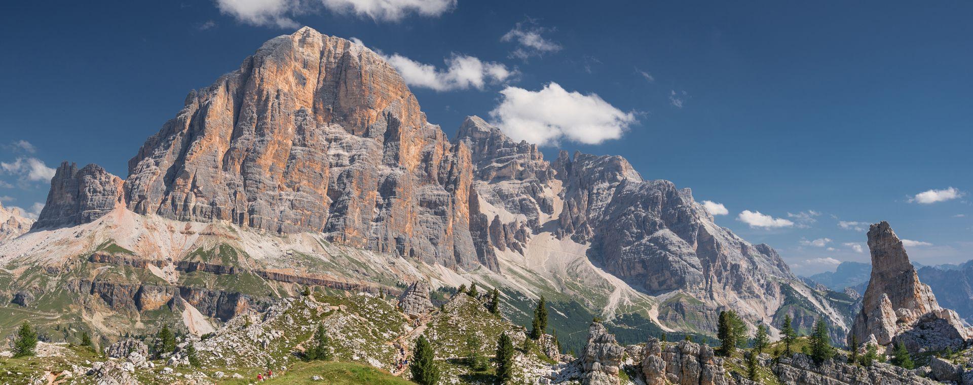 Voyage à pied : Les Dolomites Confortables : des Cinque Torri au Tre Cime