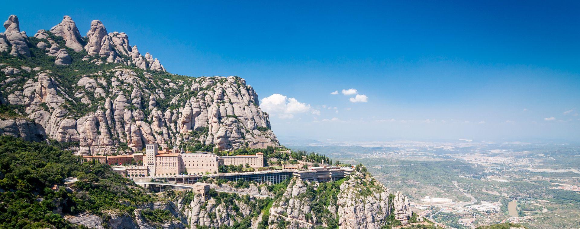 Image Les Beautés de la Catalogne, sur les chemins de Montserrat