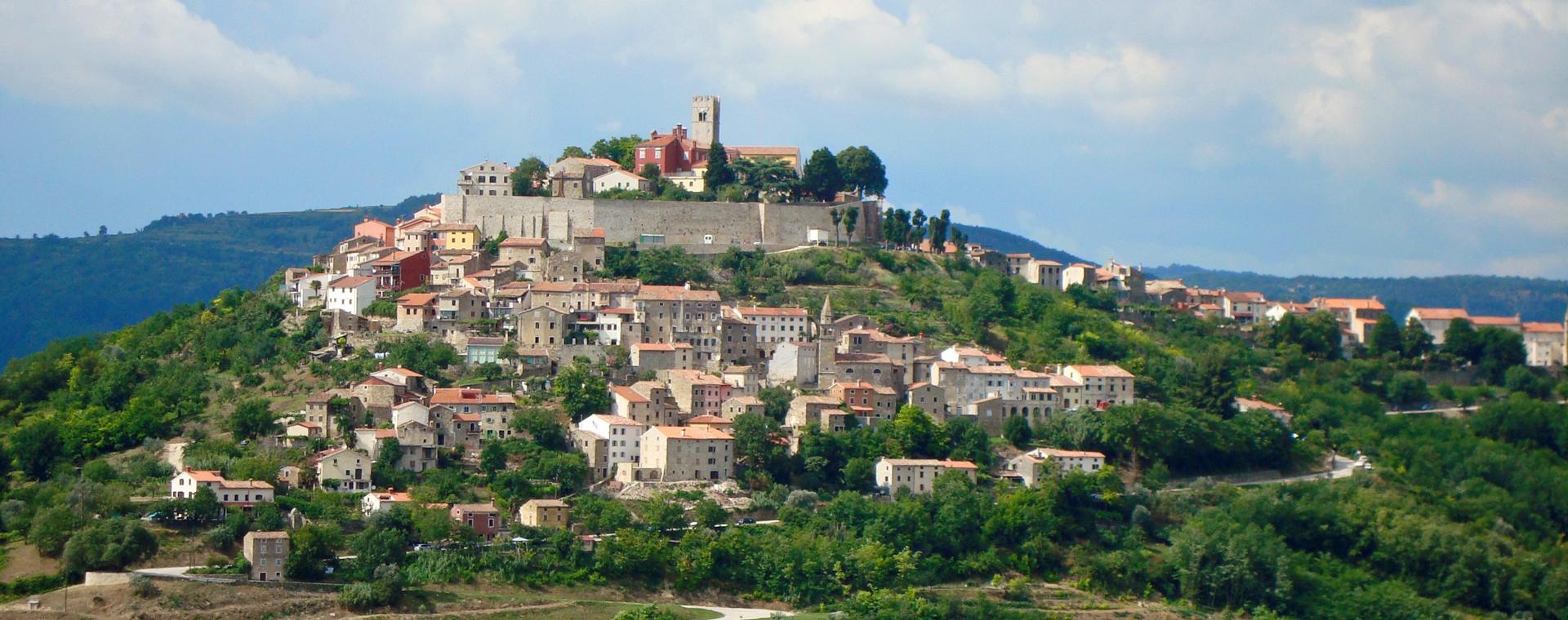 Voyage à pied : Croatie : la péninsule de l\'Istrie