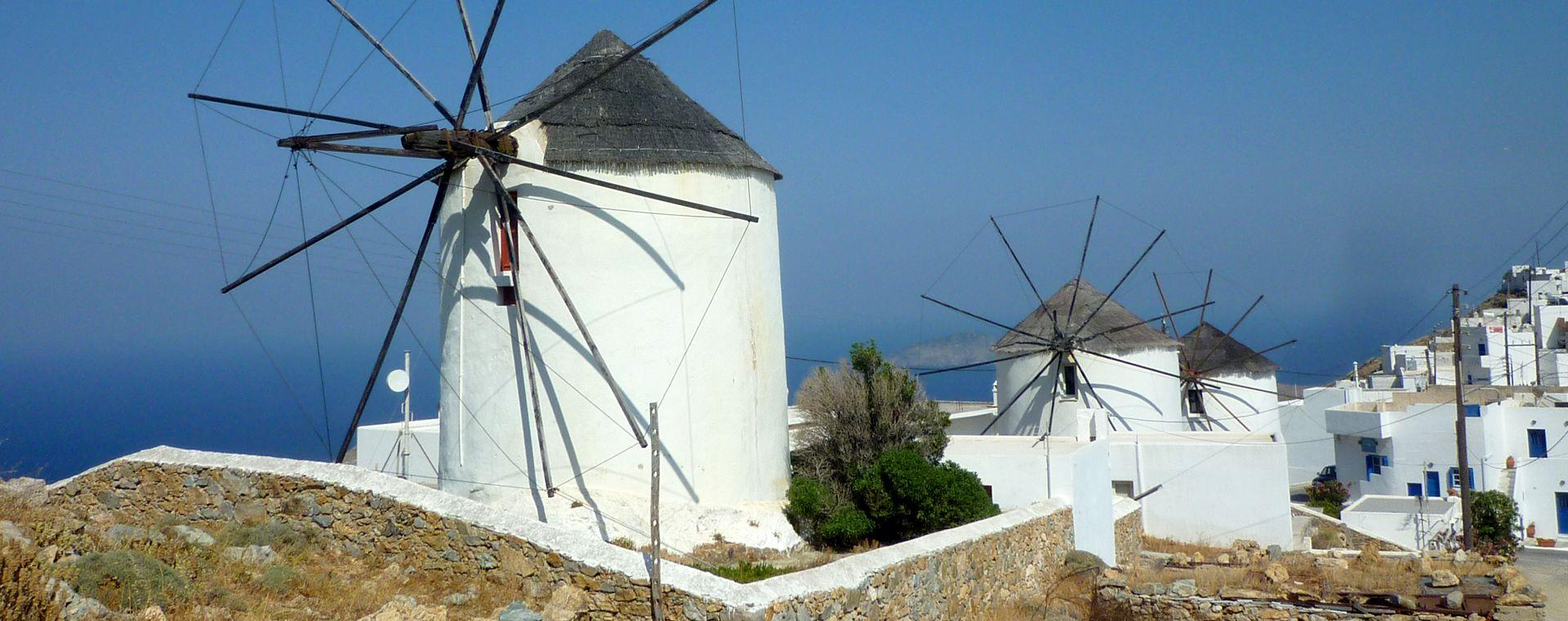 Voyage à pied : Les Cyclades : Sérifos, Sifnos et Milos
