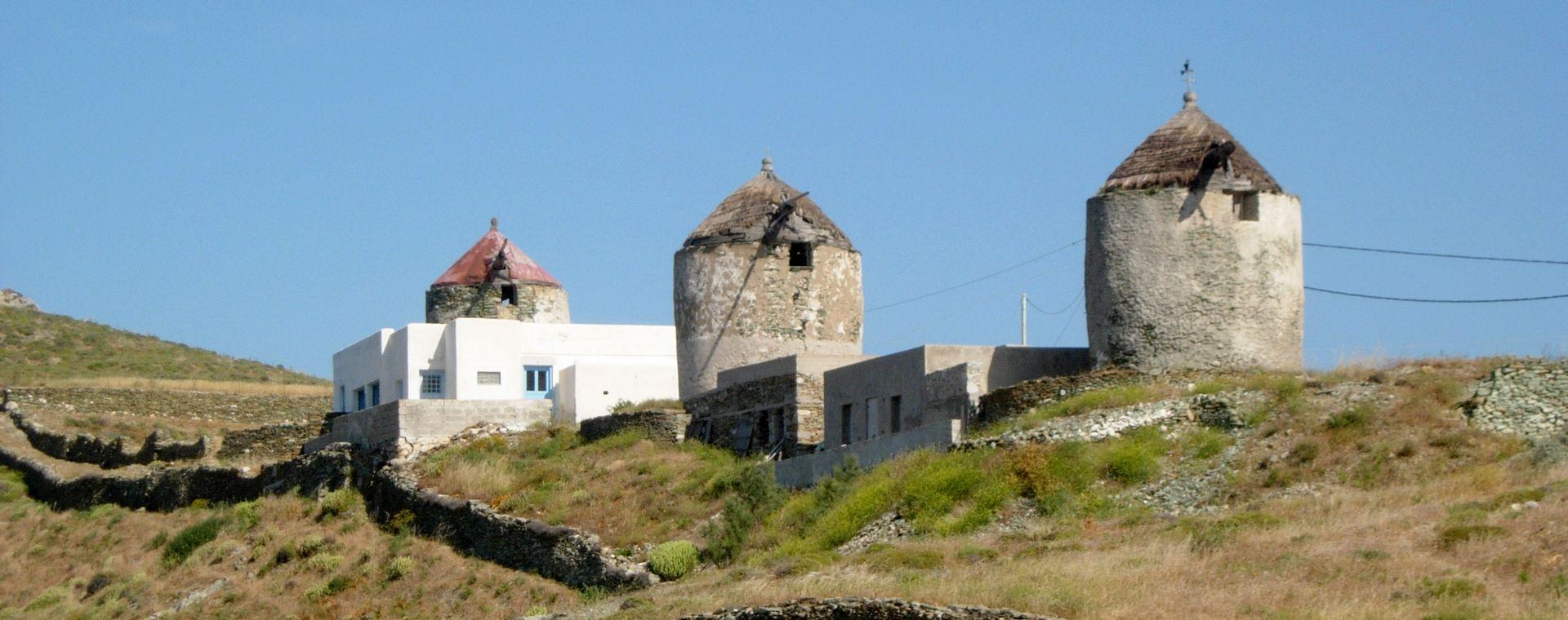 Voyage à pied : Les Cyclades : Sifnos et Folégandros