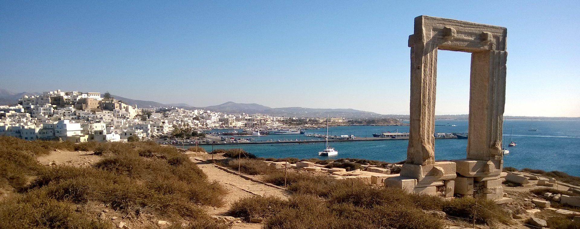 Image Cyclades orientales : Santorin, Naxos et Amorgos