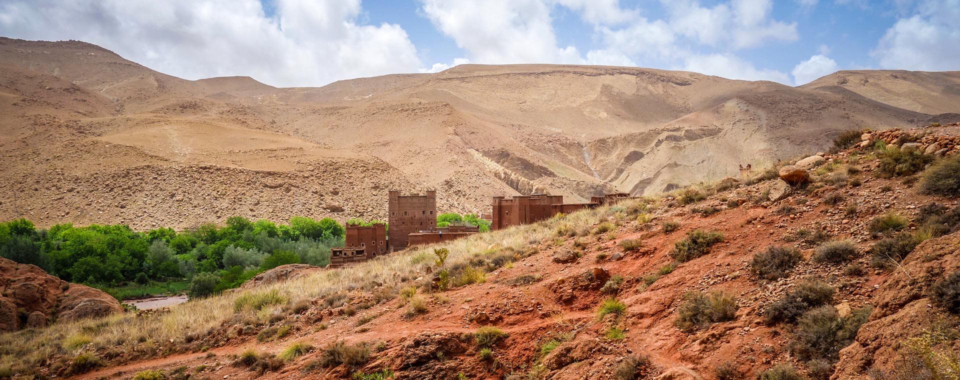 Image Vallée des roses et kasbahs