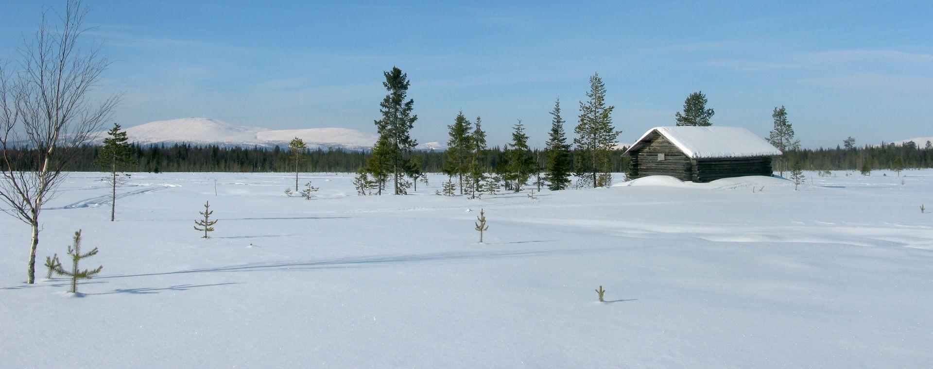 Voyage à pied : Laponie finlandaise : Äkäslompolo, séjour à l\'hôtel Seita
