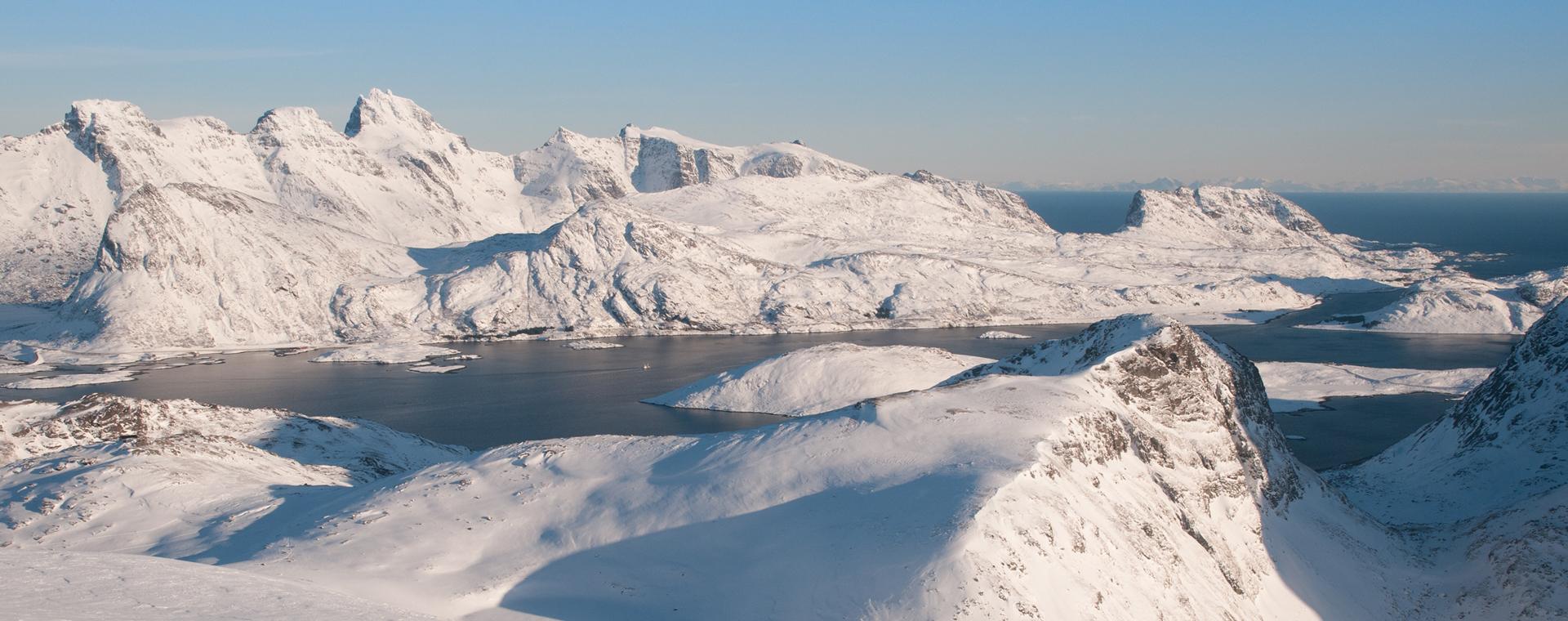 Image Hiver boréal aux îles Lofoten