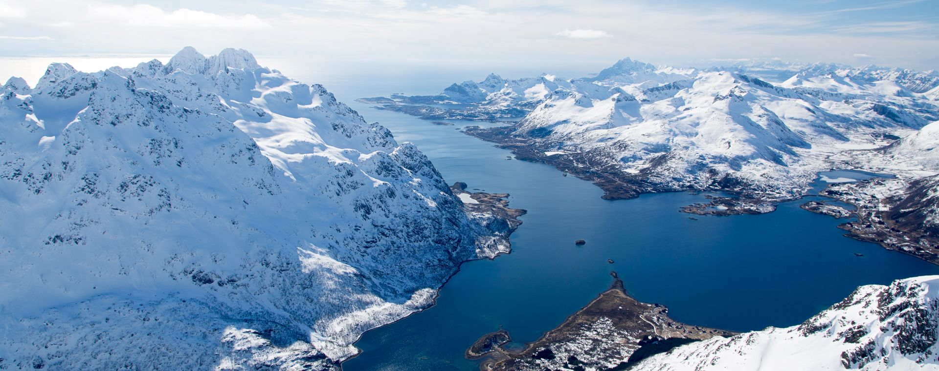 Image Ski de randonnée aux îles Lofoten