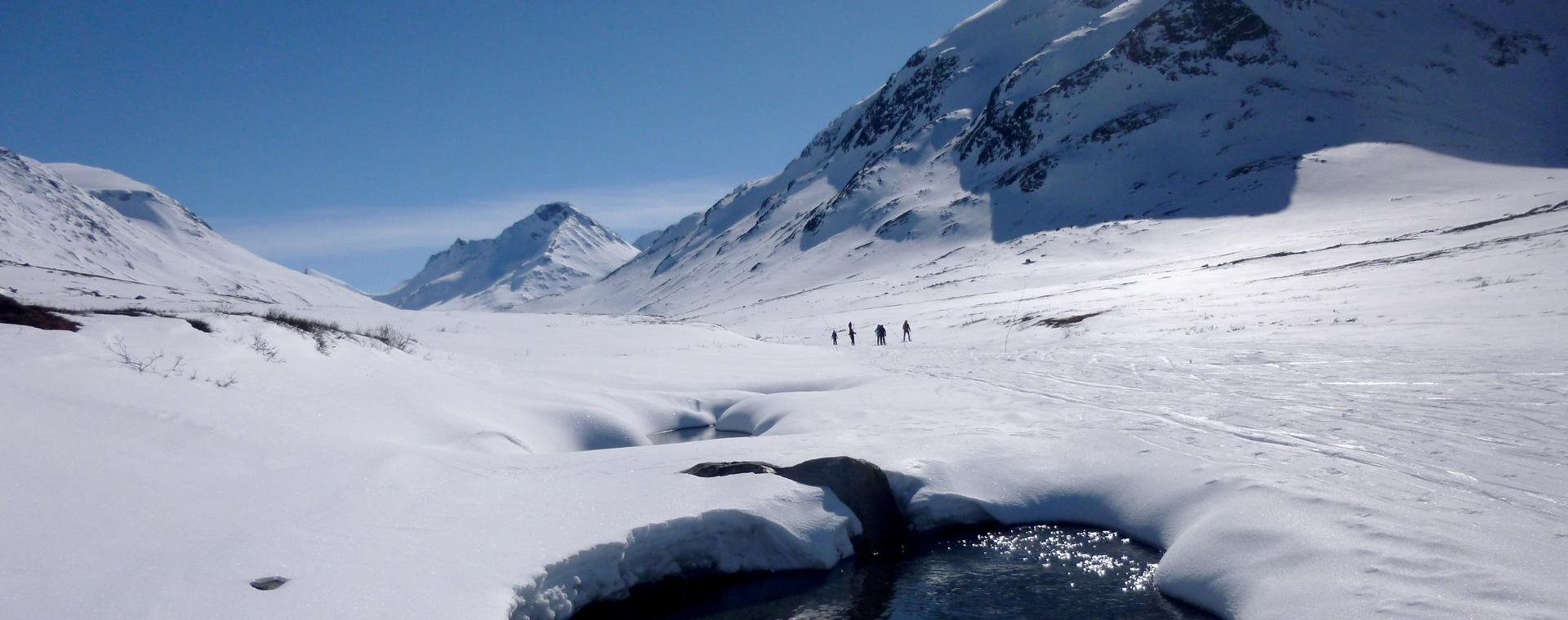 Image Tour du Jotunheimen à ski nordique