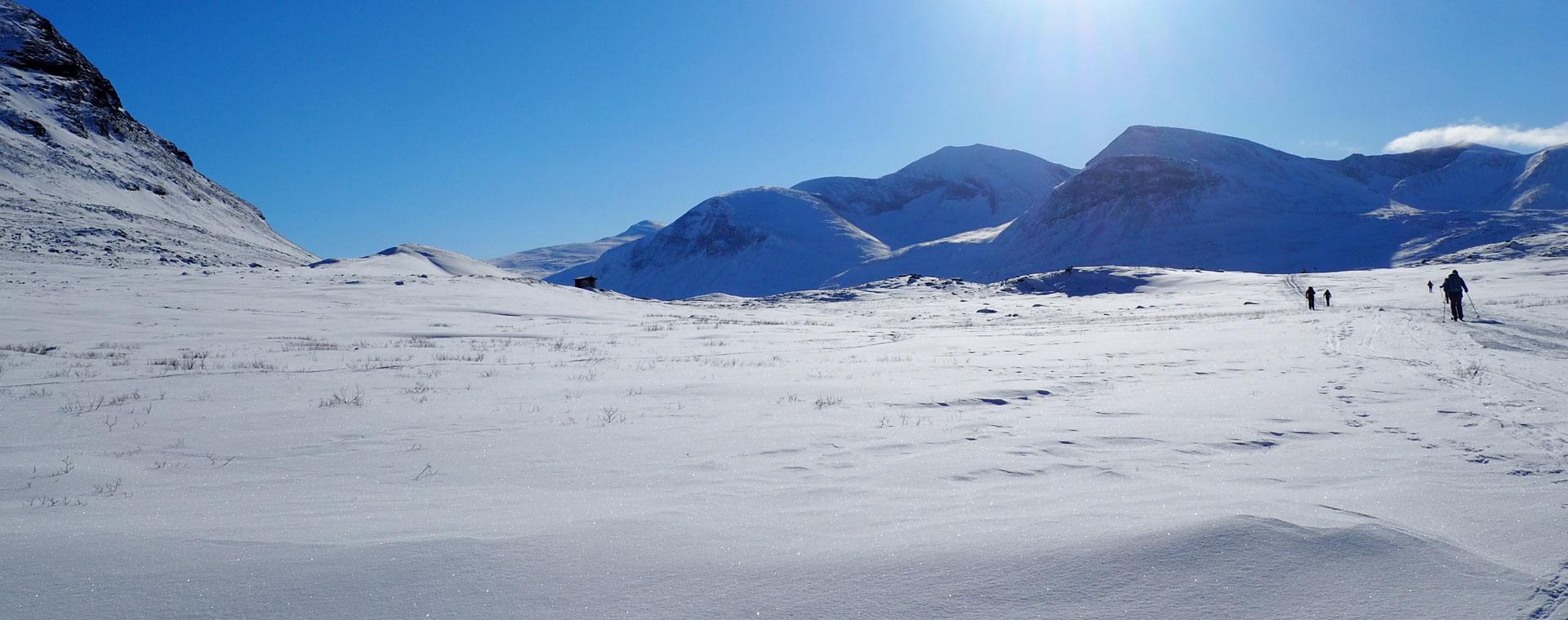 Image Laponie suédoise : la piste Royale