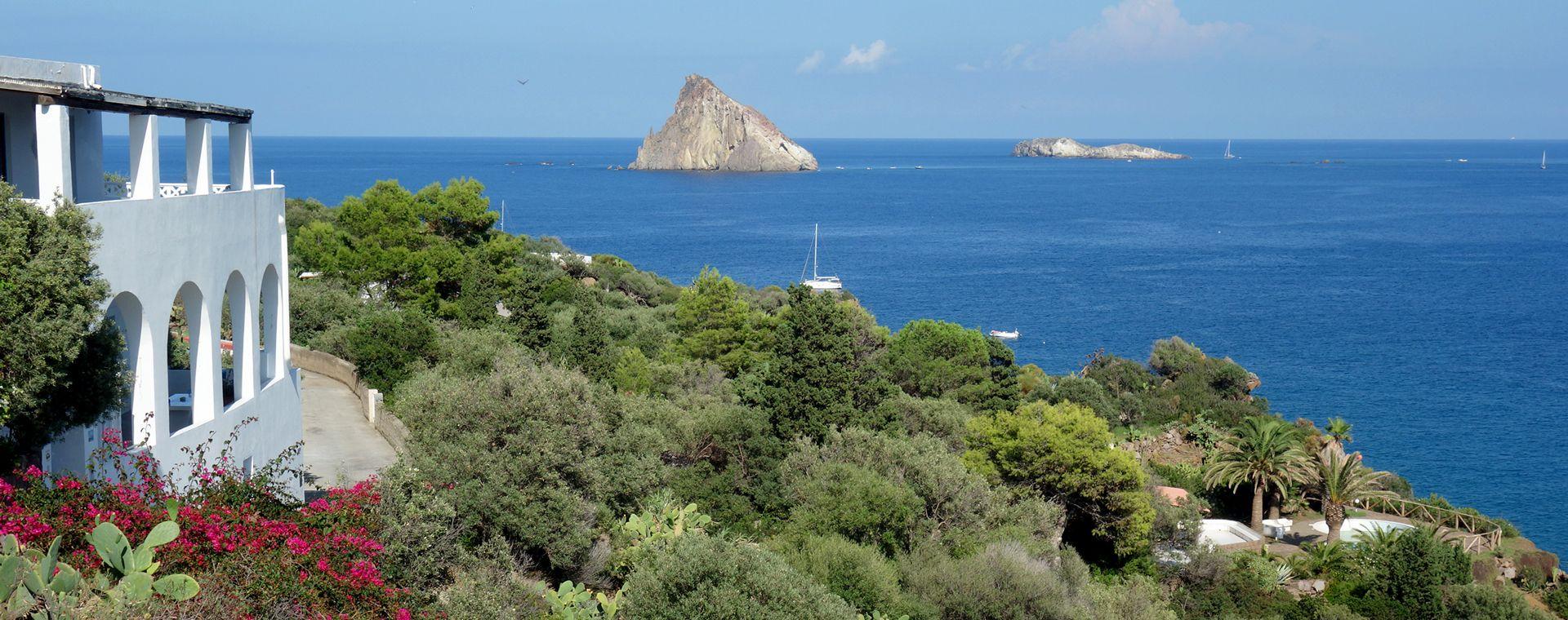 Image Îles Éoliennes et Etna