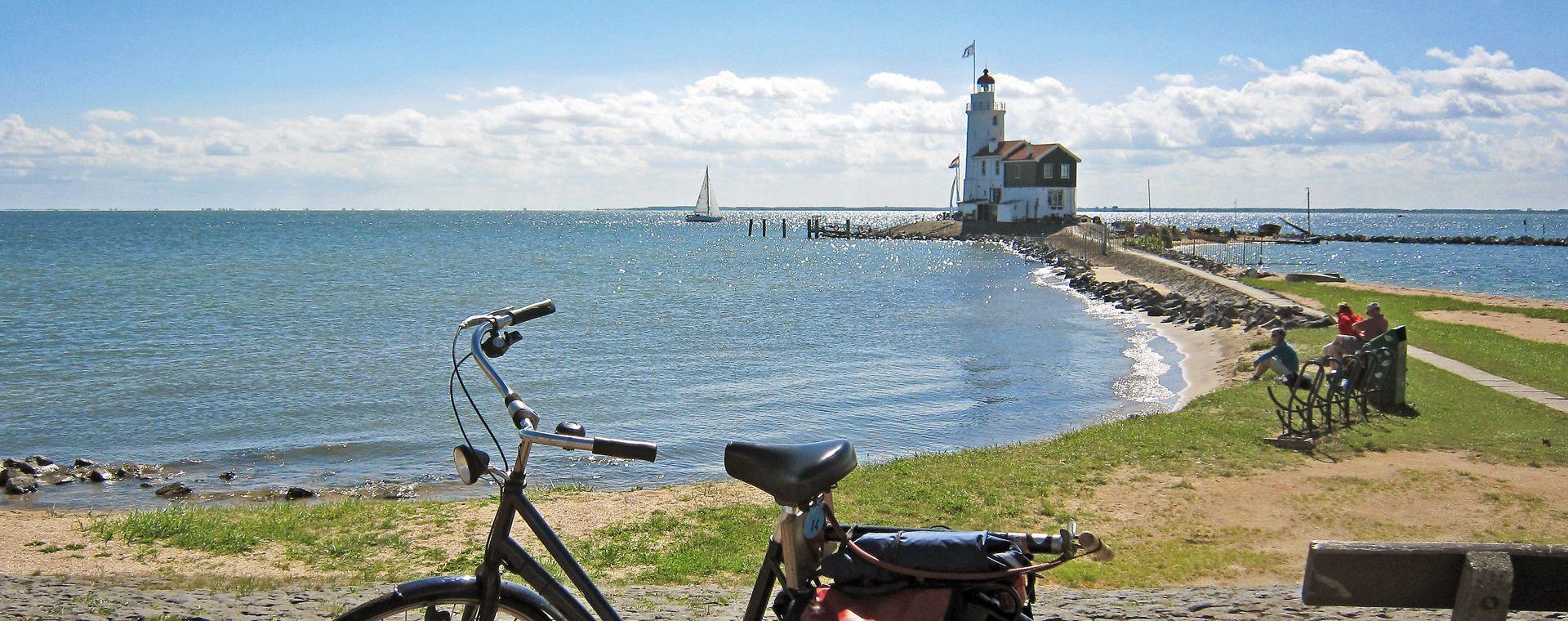 Image La Route du nord de la Hollande à vélo et bateau