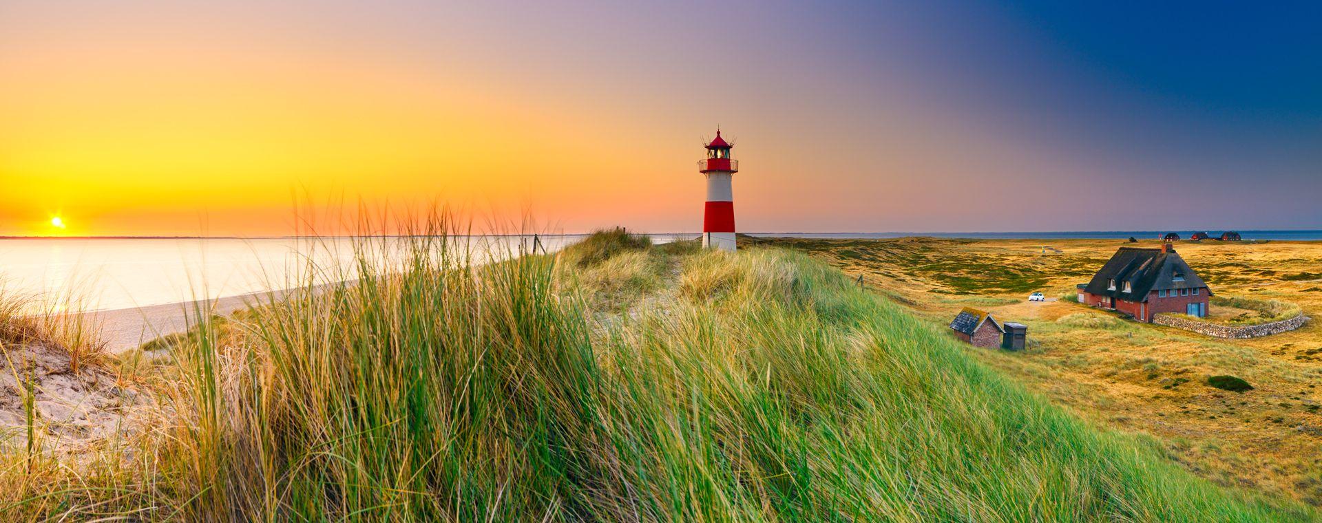 Image Les Côtes de la mer du Nord, d'Hambourg à Sylt