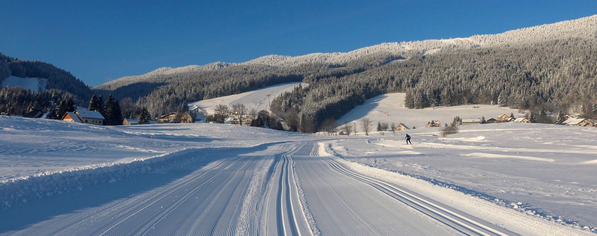 Image Ski de fond à Autrans-Méaudre en Vercors