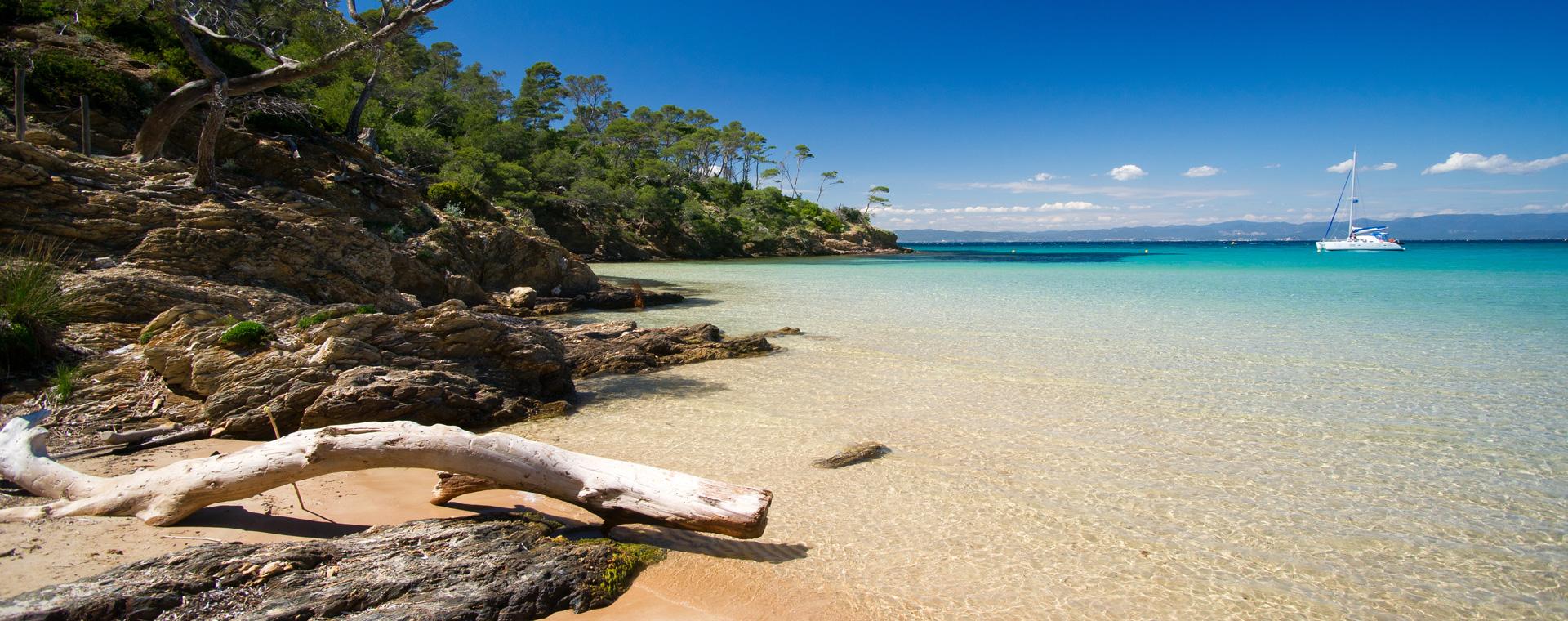 Voyage à pied : Les îles d\'Or : Port-Cros, Porquerolles et la Presqu\'ïle de Giens