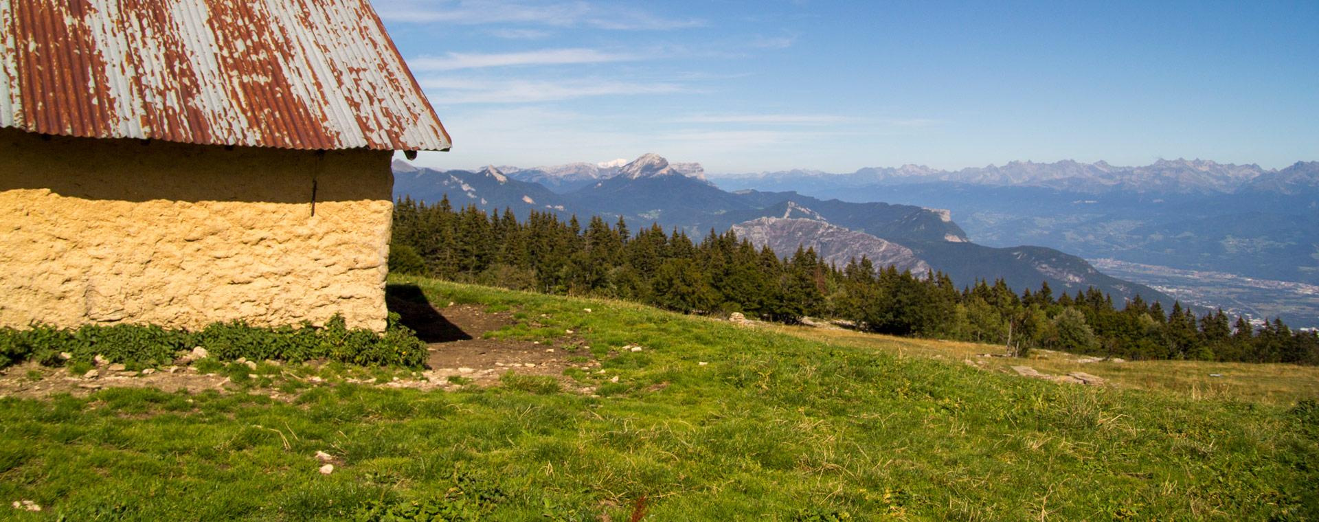 Voyage à pied : Randonnée Tour du Vercors