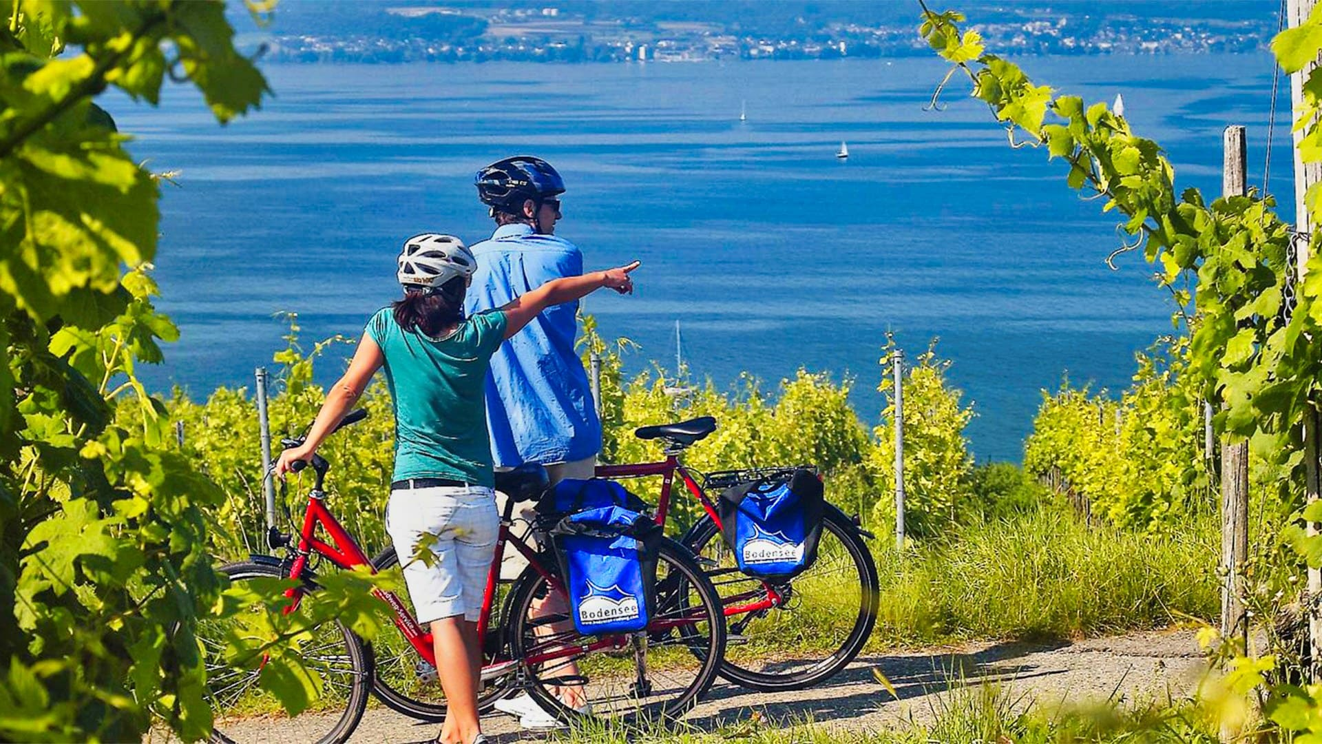 Image Lac de Constance à vélo en famille