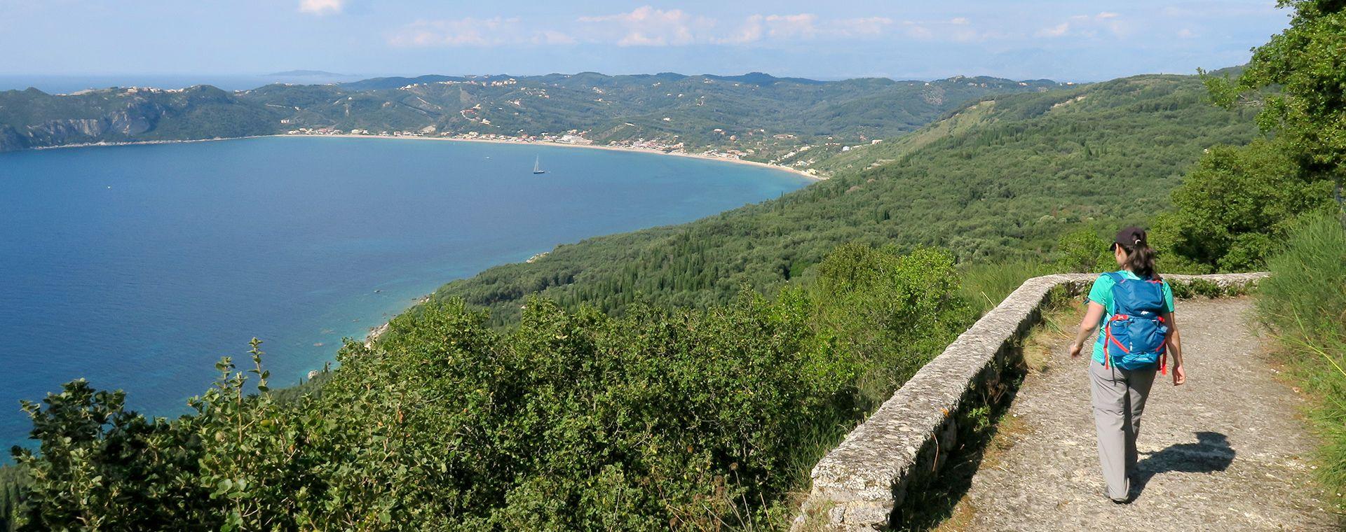 Voyage à pied : Corfou et Paxos