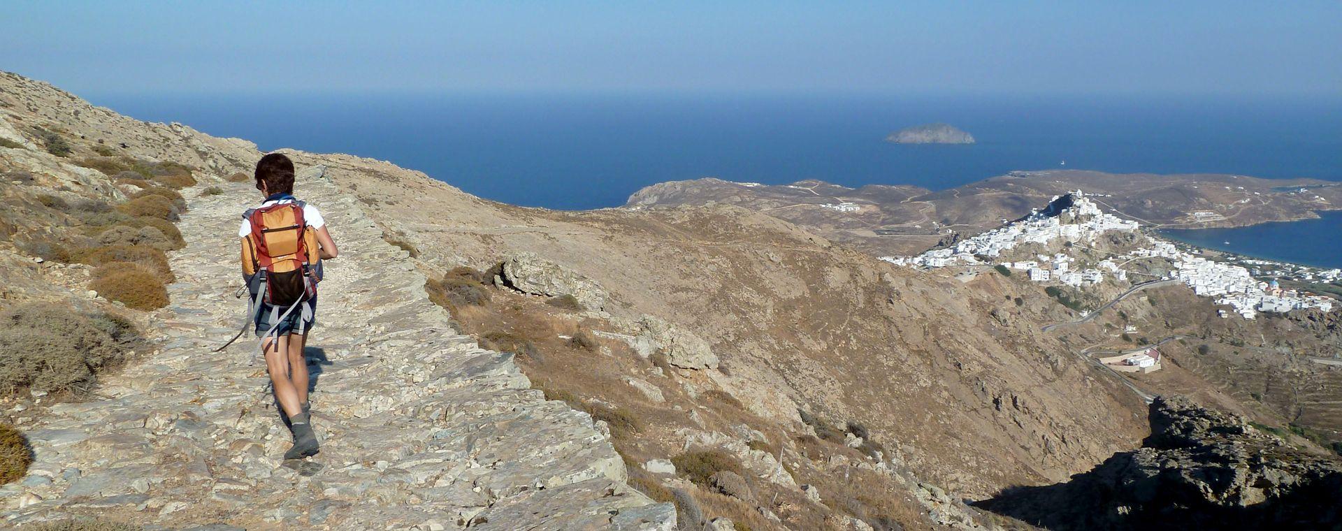 Image Cyclades : Sérifos, l'île de Persée et Sifnos, l'île d'Apollon