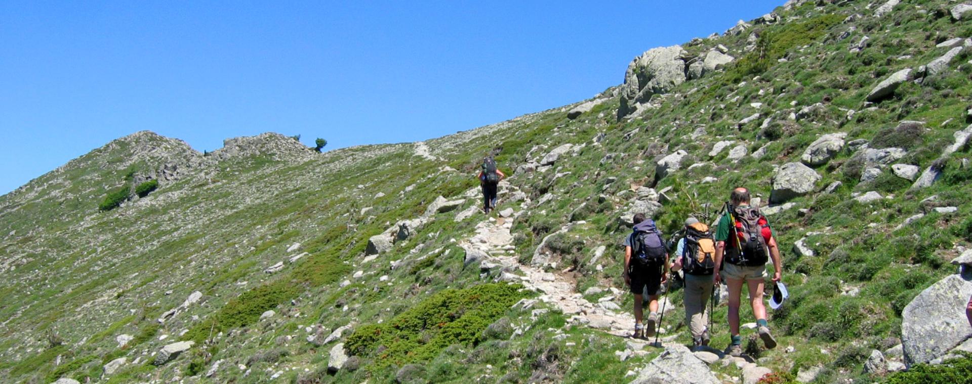 Image Corse : le GR20 Sud sans portage