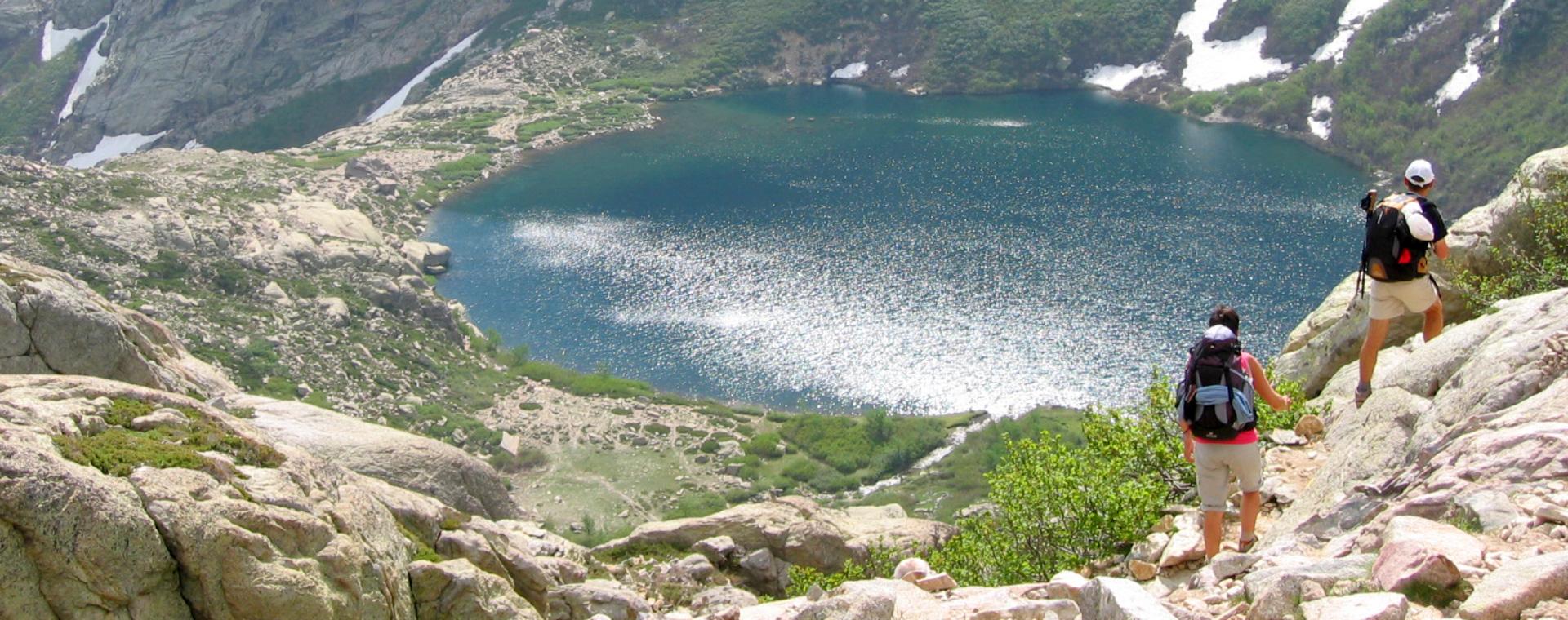Image Corse : le GR20 Nord