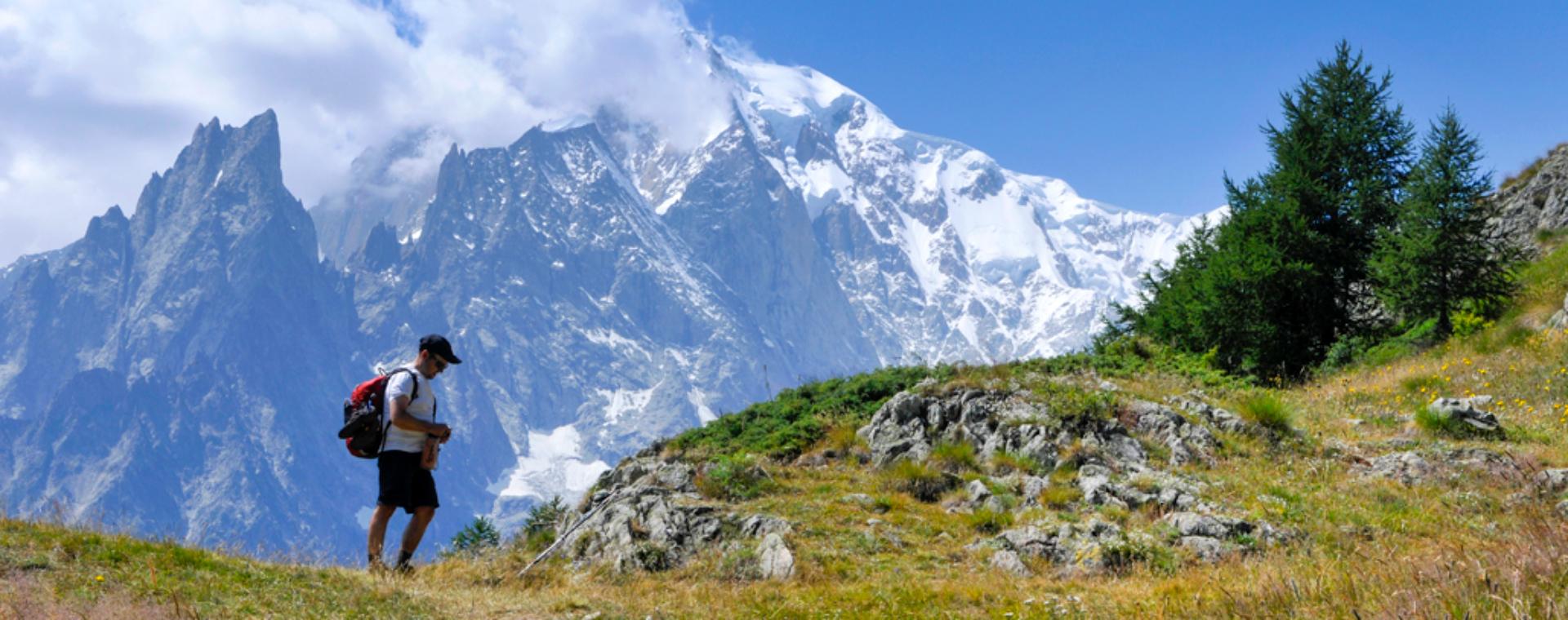 Voyage à pied : Tour du massif du Mont-Blanc