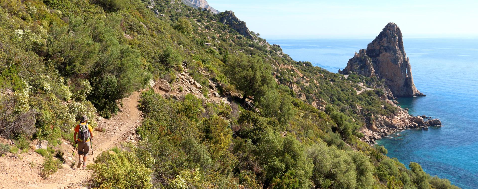 Voyage à pied : Sardaigne : le Selvaggio Blu