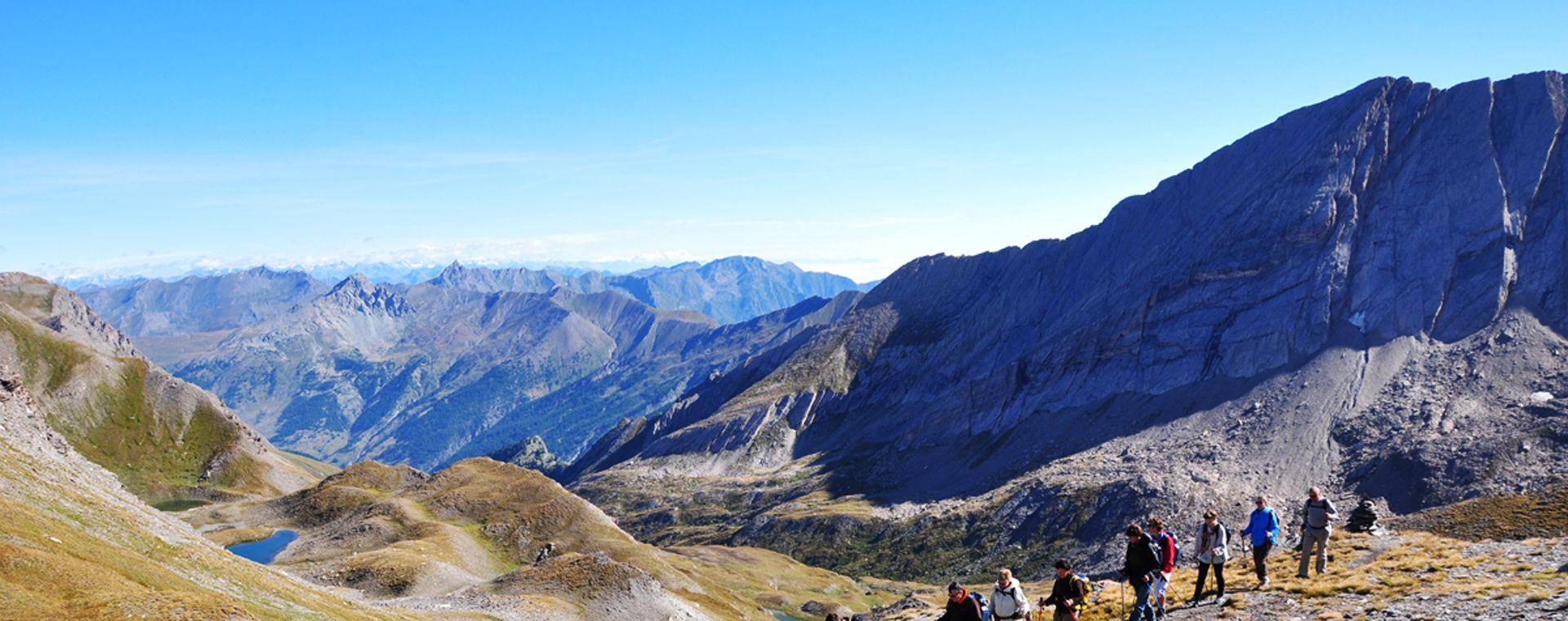 Voyage à pied : Tour du Queyras